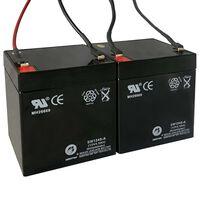 180088 Baterias suplentes para scooters elétricas 2 pcs 12 V 4,5 Amp