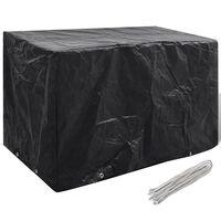 vidaXL Capa para mobiliário de jardim com 8 ilhós 140x70x90 cm