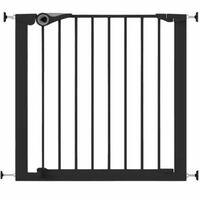 Noma Portão de segurança Easy Pressure Fit 75-82 cm metal preto 94313