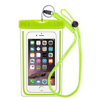 Capa para celular à prova d'água - universal - verde