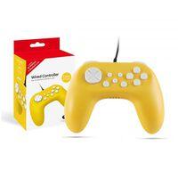 Controlador de jogo para N-Switch / Switch Lite com cabo - amarelo