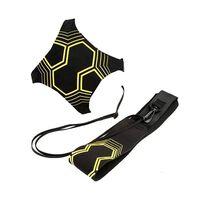 Correia de treino elástica para futebol amarelo / preto