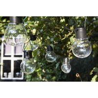 Luxform Iluminações festivas a pilha com 10 LED Menorca transparente