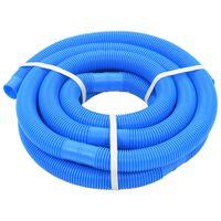 vidaXL Mangueira de piscina azul 38 mm 6 m
