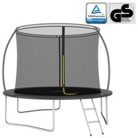 vidaXL Conjunto de trampolim redondo 305x76 cm 150 kg