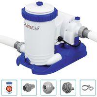 Bestway Flowclear Bomba de filtragem para piscina 9463 L/h