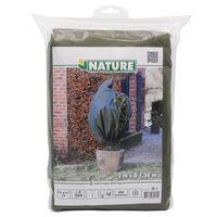Nature Protetor de plantas contra geada 70 g/m² 1,5x2 m verde