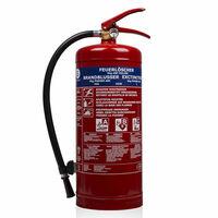 Smartwares Extintor de pó BB6 6 kg classe ABC aço 10.014.72