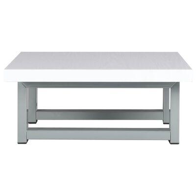 vidaXL Conjunto de móveis de casa banho 2 peças cerâmica branco