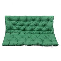 Almofada Verde para Cadeira de Balanço 120 cm