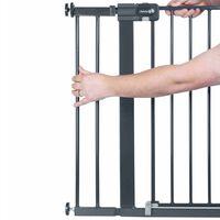Safety 1st Extensão portão de segurança 14 cm metal preto 2429057000