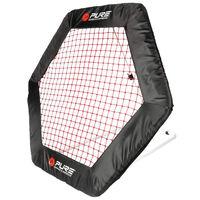 Pure2Improve Rede de ressalto para futebol hexagonal 140x125 cm