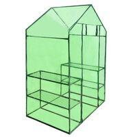 Estufa com acesso Greenhouse com 4 Prateleiras