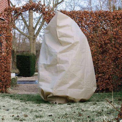 Nature Protetor plantas contra geada c/ fecho 70g/m² 2x1,5x1,5m bege